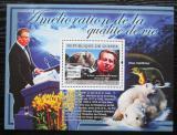 Poštovní známka Guinea 2007 Albert Gore Mi# Block 1413 Kat 7€