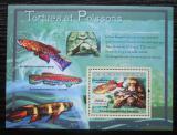 Poštovní známka Guinea 2007 Želvy a ryby Mi# Block 1189 Kat 7€