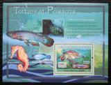 Poštovní známka Guinea 2007 Želvy a ryby Mi# Block 1190 Kat 7€