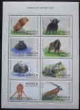 Poštovní známky Angola 1998 Africká fauna Mi# 1237-44 Kat 12€