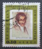 Poštovní známka Venezuela 1966 Umění, Simón Bolívar Mi# 1684