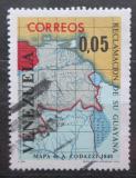 Poštovní známka Venezuela 1965 Mapa Mi# 1626