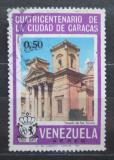 Poštovní známka Venezuela 1967 Kostel sv. Terezy v Caracasu Mi# 1705