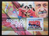 Poštovní známka Togo 2010 MS ve fotbale, team Španělska Mi# Block 549 Kat 12€