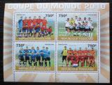 Poštovní známky Togo 2010 MS ve fotbale Mi# 3693-96 Kat 12€