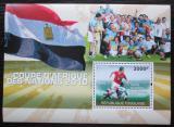 Poštovní známka Togo 2010 Africký pohár ve fotbale Mi# 3679-82 Kat 12€