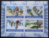 Poštovní známky Togo 2010 Cyklistika Mi# 3639-42 Kat 12€