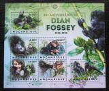 Poštovní známky Mosambik 2012 Gorily a Dian Fossey Mi# 6139-44 Kat 14€