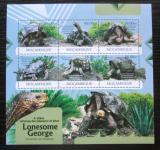 Poštovní známky Mosambik 2012 Nejstarší želva sloní pintská Mi# 6055-60 Kat 14€