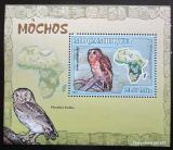 Poštovní známka Mosambik 2007 Sovy DELUXE Mi# 3017 Block