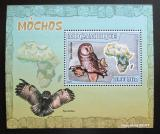 Poštovní známka Mosambik 2007 Sovy DELUXE Mi# 3018 Block
