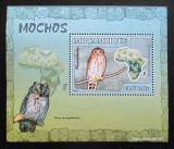 Poštovní známka Mosambik 2007 Sovy DELUXE Mi# 3019 Block