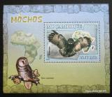 Poštovní známka Mosambik 2007 Sovy DELUXE Mi# 3021 Block