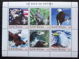 Poštovní známky Guinea-Bissau 2003 Orli Mi# 2596-2601 Kat 12€