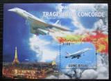 Poštovní známka Guinea-Bissau 2010 Tragédie Concorde Mi# Block 822 Kat 12€