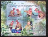 Poštovní známky Guinea-Bissau 2012 Skauti Mi# 6163-66 Kat 9.50€