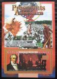 Poštovní známka Guinea 2010 James Buchanan, 15. US prezident Mi# Bl 1897 Kat 10€