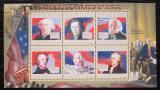 Poštovní známky Guinea 2010 John Adams, 6. US prezident Mi# 7871-76 Kat 12€