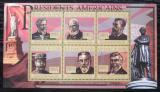 Poštovní známky Guinea 2010 James Garfield, 20. US prezident Mi# 8030-35 Kat 12€