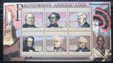 Poštovní známky Guinea 2010 Zachary Taylor, 12. US prezident Mi# 7982-87 Kat 12€