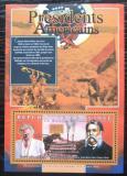 Poštovní známka Guinea 2010 Chester Arthur, 21. US prezident Mi# Block 1903 Kat 10€