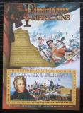 Poštovní známka Guinea 2010 Andrew Jackson, 7. US prezident Mi# Block 1881 Kat 10€