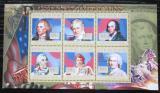 Poštovní známky Guinea 2010 T. Jefferson, 3. US prezident Mi# 7877-82 Kat 12€