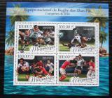 Poštovní známky Mosambik 2016 Rugby Mi# 8849-52 Kat 22€