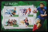 Poštovní známky Guinea 2015 Rugby Mi# 11273-76 Kat 16€