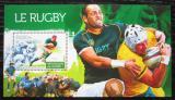 Poštovní známka Guinea 2015 Rugby Mi# Block 2551 Kat 14€