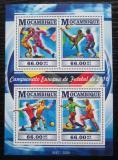 Poštovní známky Mosambik 2015 ME ve fotbale Mi# 8129-32 Kat 15€