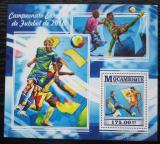 Poštovní známka Mosambik 2015 ME ve fotbale Mi# Block 1066 Kat 10€