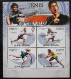 Poštovní známky Guinea-Bissau 2012 Tenisti Mi# 6111-14 Kat 12€