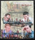 Poštovní známky Guinea-Bissau 2012 Světoví šachisti Mi# 6082-85 Kat 10€