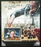 Poštovní známka Guinea-Bissau 2012 Světoví šachisti Mi# Block 1079 Kat 12€