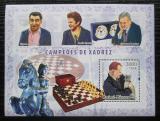 Poštovní známka Guinea-Bissau 2006 Světoví šachisti Mi# Block 577 Kat 12€