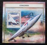Poštovní známka Sierra Leone 2016 Concorde Mi# Block 1108 Kat 11€
