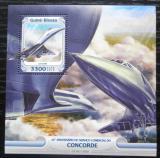 Poštovní známka Guinea-Bissau 2016 Concorde Mi# Block 1471 Kat 12.50€