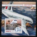 Poštovní známka Guinea 2016 Concorde Mi# Block 2619 Kat 16€