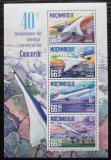 Poštovní známky Mosambik 2016 Concorde Mi# 8574-77 Kat 15€
