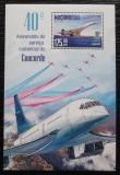 Poštovní známka Mosambik 2016 Concorde Mi# Block 1155 Kat 10€