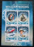 Poštovní známky Sierra Leone 2016 Letadla, William Boeing Mi# 7198-7201 Kat 11€
