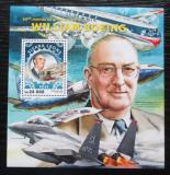 Poštovní známka Sierra Leone 2016 Letadla, William Boeing Mi# Block 972 Kat 11€