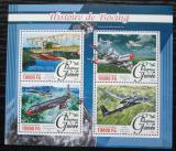 Poštovní známky Guinea 2016 Letadla Boeing Mi# 11711-14 Kat 16€