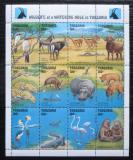 Poštovní známky Tanzánie 1993 Africká fauna Mi# 1551-62