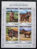 Poštovní známky Niger 2015 Prase savanové Mi# N/N