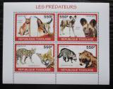 Poštovní známky Togo 2010 Šelmy Mi# 3459-62 Kat 8.50€