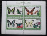 Poštovní známky Togo 2010 Motýli Mi# 3404-07 Kat 8.50€