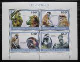 Poštovní známky Togo 2010 Opice Mi# 3484-87 Kat 8.50€