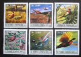 Poštovní známky Svatý Tomáš 2003 Bažanti Mi# 2067-72 Kat 10€